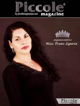 Sara Hermanns organizzatrice Miss Trans Liguria 2018
