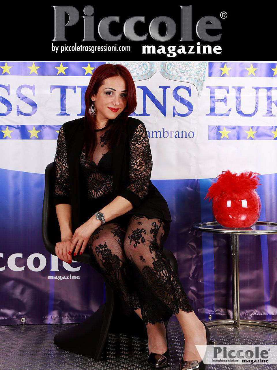 Stefania Zambrano organizzatrice del Miss Trans Europa 2018 che si svolgerà a CineCitta World