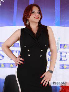 Stefania Zambrano organizzatrice del Miss Trans Europa