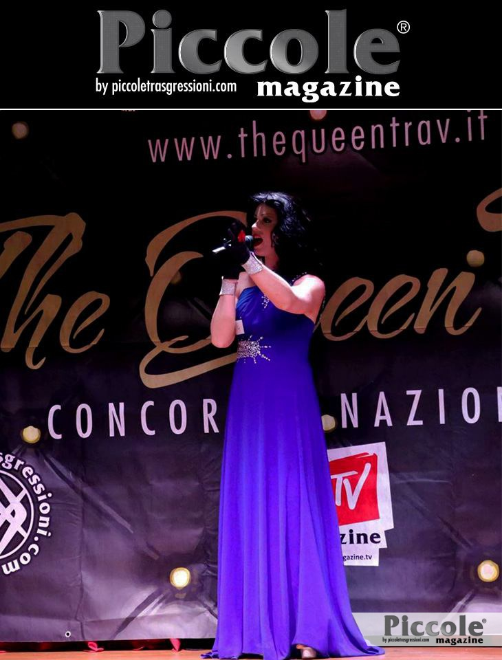 The Queen Trav 2018 concorso nazionale. Vince Lakisha Moore