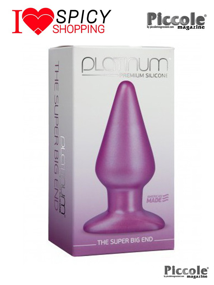 Plug anale The super big and premium silicone Doc Johnson