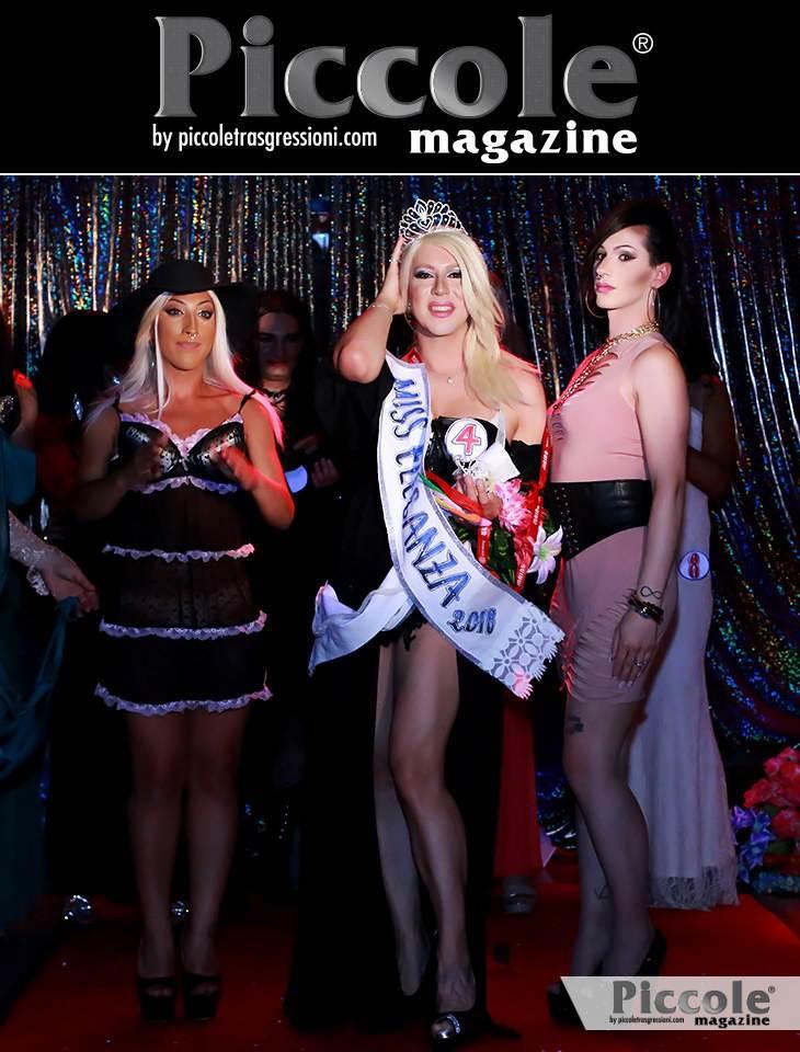 Valeria Tribute terza classificata al Miss Trav Company 2018