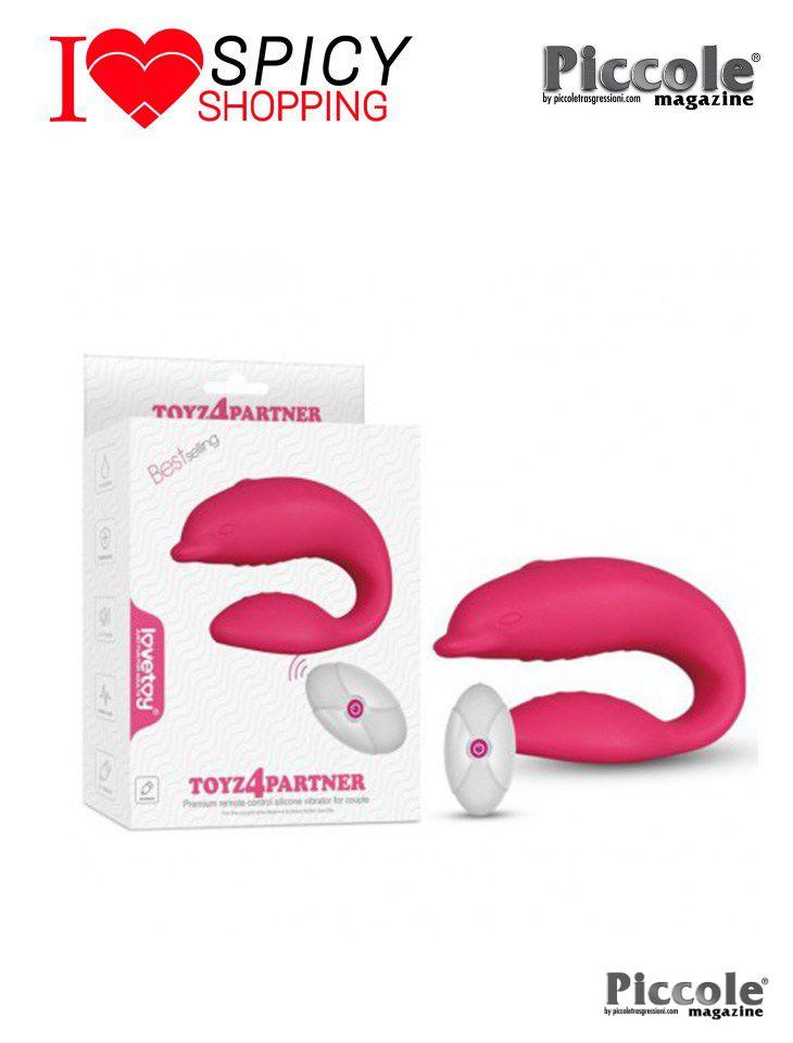 Vibratore Per Coppia Toyz4Partner Ricaricabile by LoveToy