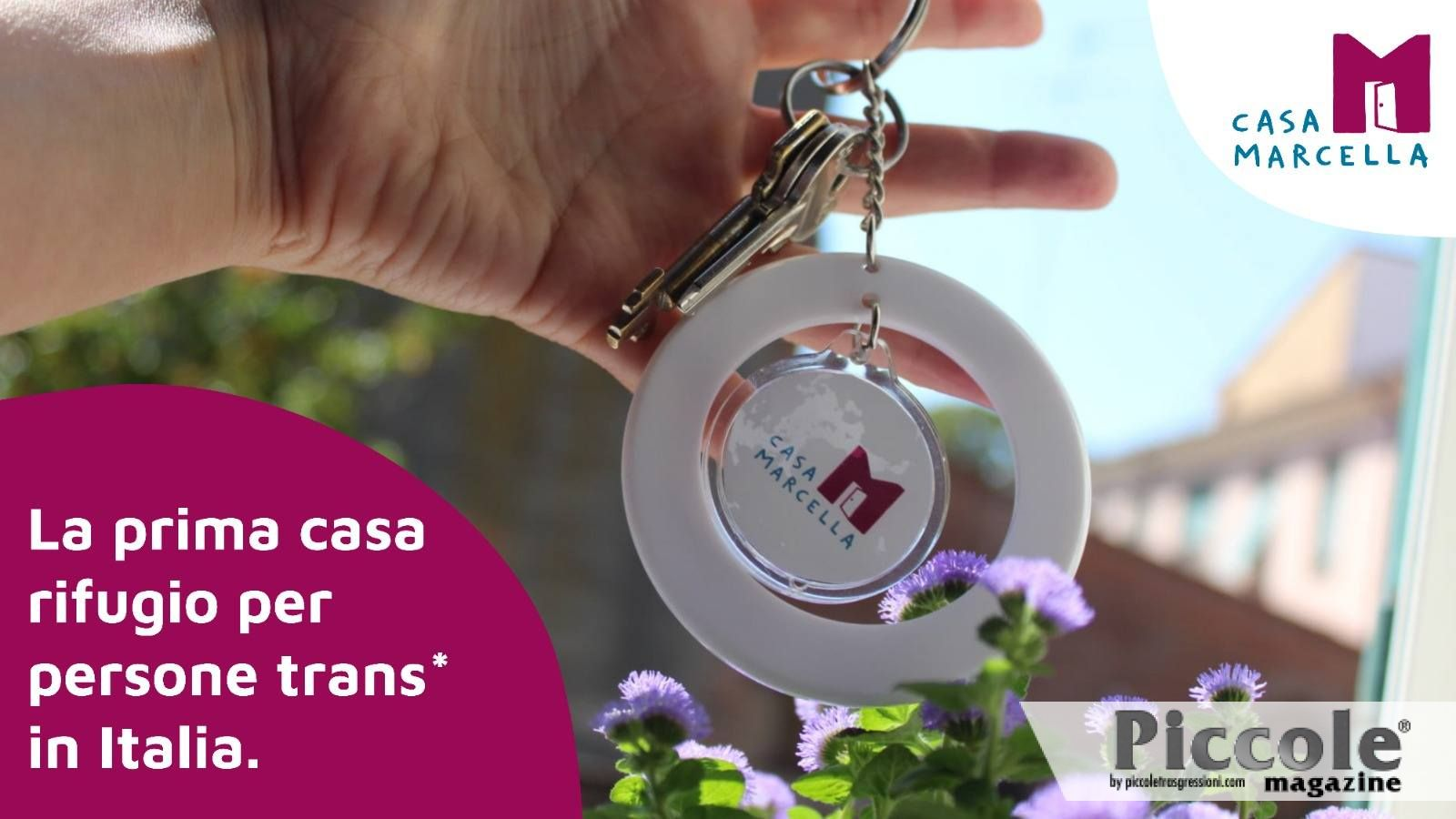 Regina Satariano e il crowdfunding per la Casa Rifugio Marcella di Folco